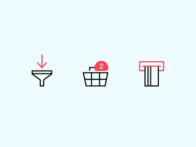 Line Icons Set ecomerce shop ui uidesign vector icons line