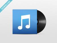 iTunes 11 - Vinyl Icon