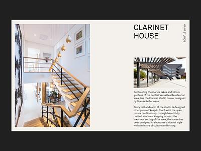 Inside Explore - Versailles Residential layout portfolio typography minimal interface ux website ui landing page