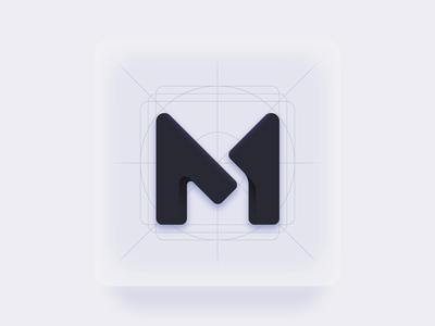 M - Initial Personal Logo
