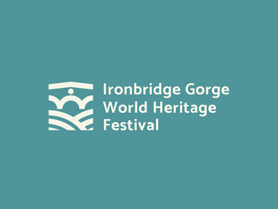 Ironbridge Gorge World Heritage Festival: Logo Design