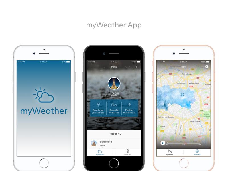 myWeather App