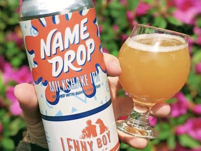 Lenny Boy Brewing Co. Name Drop IPA