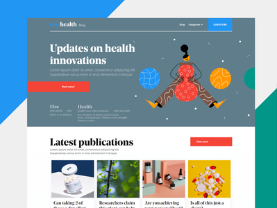 Elsehealth blog page