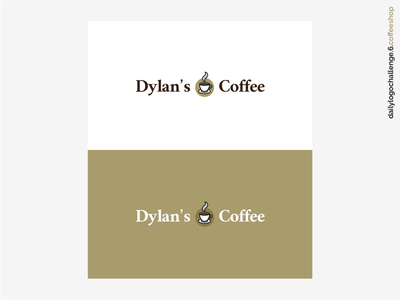 Daily Logo Challenge #06 - Coffee Shop vector logo illustration coffee branding dribbble coffeeshoplogo coffeeshop logo6 logodesign dailylogochallenge dailylogodesign