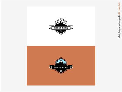 Daily Logo Challenge #08 - Ski Mountain ski mountain logo ski mountain mountain illustration branding logo vector dribbble graphic design logo design dailylogo dailylogochallenge