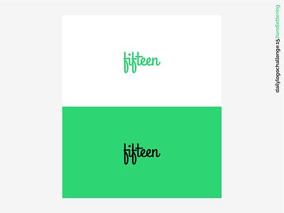 Daily Logo Challenge #15 - Hand Lettering handlettering typography dribbble vector illustration branding logo ui design design daily logo design daily logo daily logo challenge