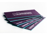 Aubergine Business Cards #2