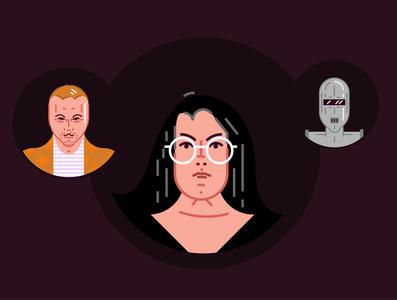 Heads Avatars