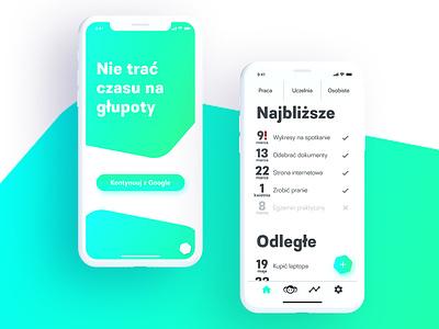 To Do app concept design type web app ux ui vector minimal illustration flat design branding brand identity brand