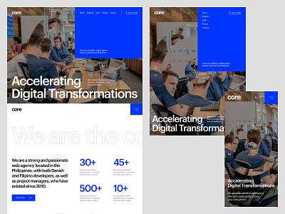 Core Web Solutions, Inc. Website 2020 branding website ui design ux design web design userinterfacedesign ui ux designer ui ui  ux design ui design typography design
