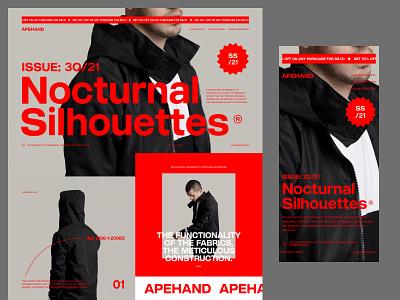 Apehand 1.1 (Minimal adjustments) website landing page ui design ux design web design userinterfacedesign ui ux designer ui  ux design ui design typography design