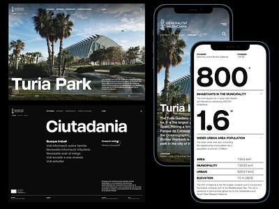 Website proposal for Generalitat Valenciana 2021 aestheticism minimalism poster design typoster designer website design ui design ux design ui minimal ui ux designer userinterfacedesign web design ui  ux design ui design typography design