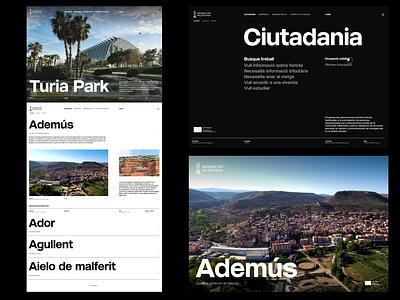 Generalitat Valenciana Website V2 grid design layout design designing website design poster poster design website ui design ux design minimal ui ux designer userinterfacedesign web design ui  ux design ui design typography design