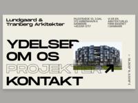Lundgaard & Tranberg Arkitekter (Font Exploration)