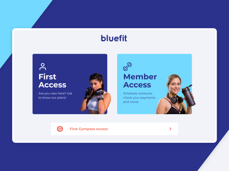 Bluefit Gym | Login