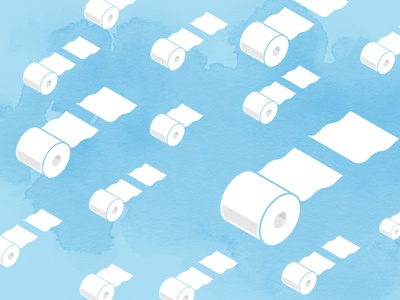 TP to the rescue | Zoom background funny clouds blue random sky flying background zoom toilet paper