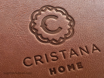 Home Furnishings Logo On Leather By Leighton Hubbell