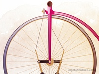 Velocipede Illustration - Closer look