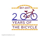 200 Years of the Bicycle logo