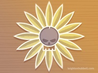 Pushin' Up Daisies Illustration