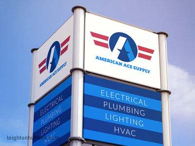 American Ace Supply identity design