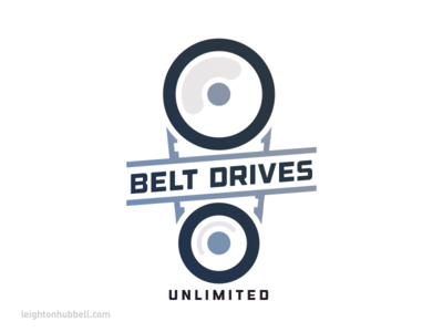 Belt Drives Unlimited logo design
