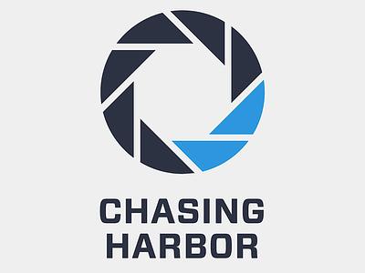 Chasing Harbor logo aperture photography sailing sailboat