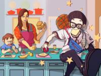 潮人篮球(临摹)Fever Basketball mobile game(Copy)
