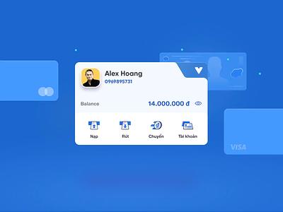[ VNPT Pay ] Your real wallet - UI Concept exploration money ewallet e-wallet digital wallet fintech concept ux ui animation interactive illustration