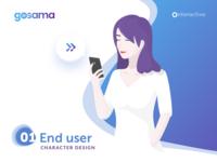 Gosama Enduser Character Female 01