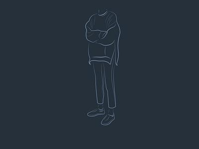 outfit-2 illustration design