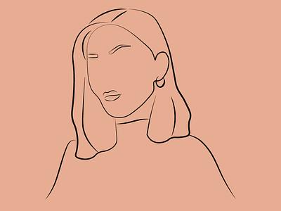 femaleboss illustration design