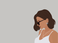stay classy minimal vector flat illustration design