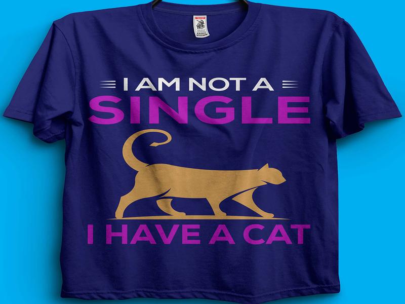 Cat T-shirt Design. typographytshirt photoshop illustrator typography tshirtdesign tshirt instacat catlovers animallovers petlovers animaltshirt animal pets pet catlogo cattshirts cattshirtdesign cattshirt cat