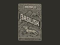 Basilisk Jacket Label