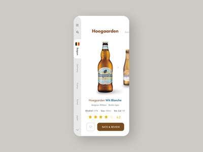 beer review ui