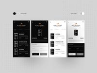 Black Henry ( UI Design)