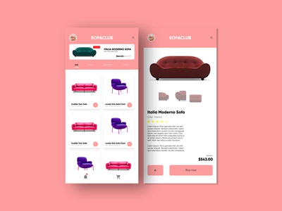 E-Commerce App (UI Design)