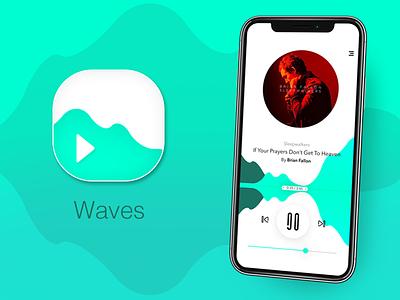 Daily UI #005 - App Icon dailyui ios mobile ux ui design music player app icon ux design