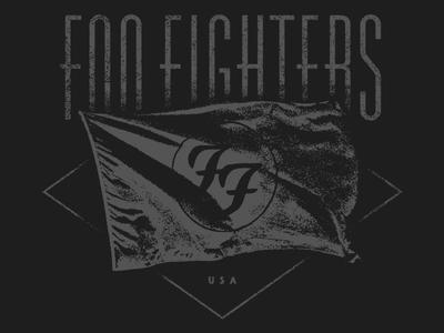 FOO FIGHTERS - flag