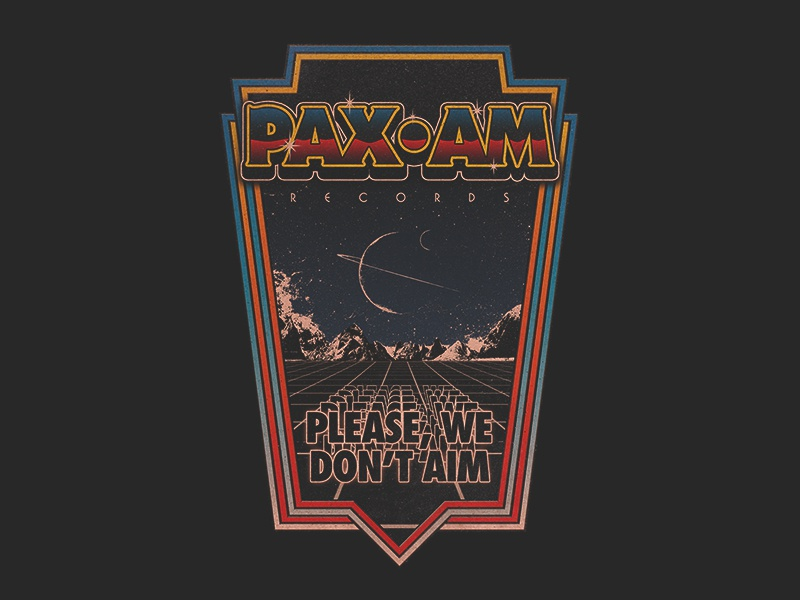 PAXAM - arcade records rock landscape space vintage retro arcade ryan adams paxam