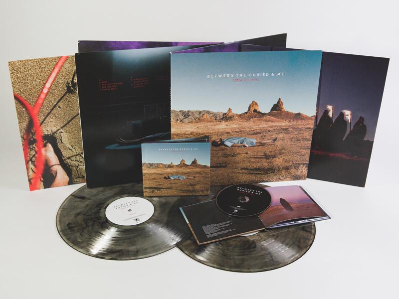 BTBAM - Coma Ecliptic landscape photography album cover album rock prog metal btbam