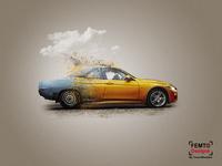 Make a Car Advertisement Poster | Manipulation