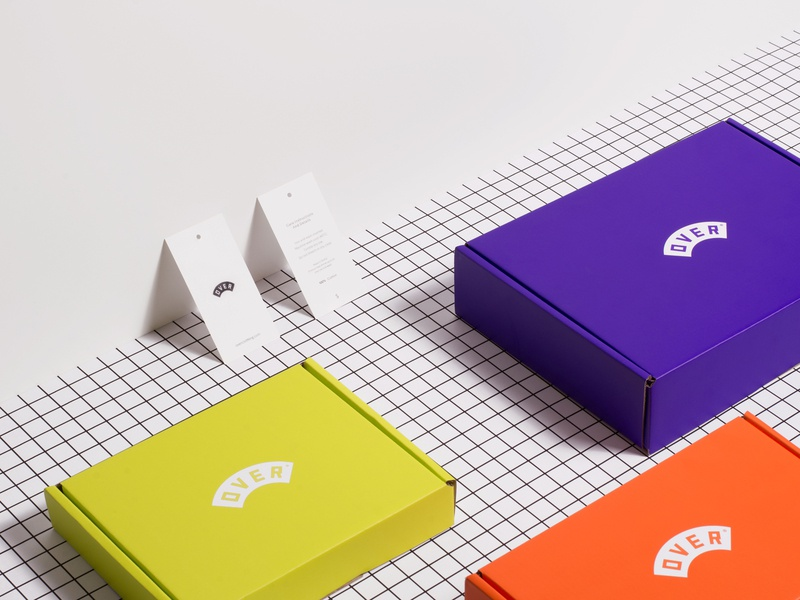 Over 2019 Packaging overclothing over box design identity design identity branding identity branding agency studio print packaging packagedesign graphicdesign design bbbrick