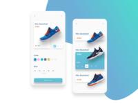Nike - Store app concept
