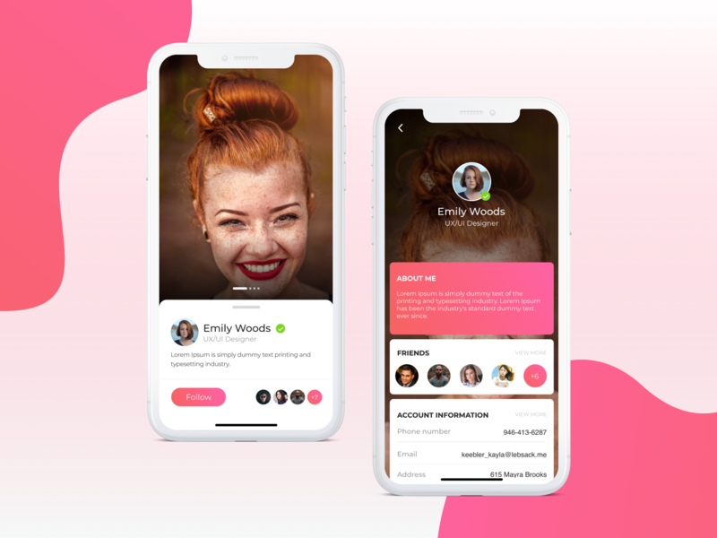 Fuush - App concept - UI/UX typography adobexd sketch uidesign uxui app design app ui mobile design