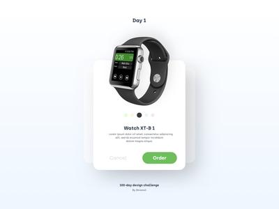 100 Day Design Challenge - DAY 1