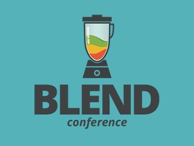 Blend Conference logo conference
