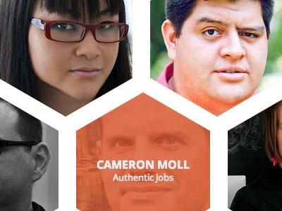 BlendConf Speakers blendconf hexagons conference